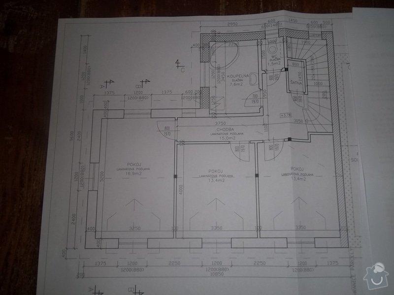 Nová střecha komplet s krovy,zvednutí střechy,nová podlaha: 100_4492