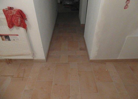Pokládka dlažby, laminátu, obklady koupelna