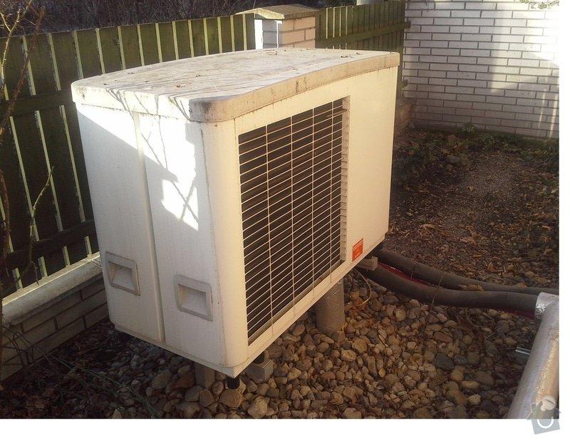 Instalace tepelného čerpadla: tc1