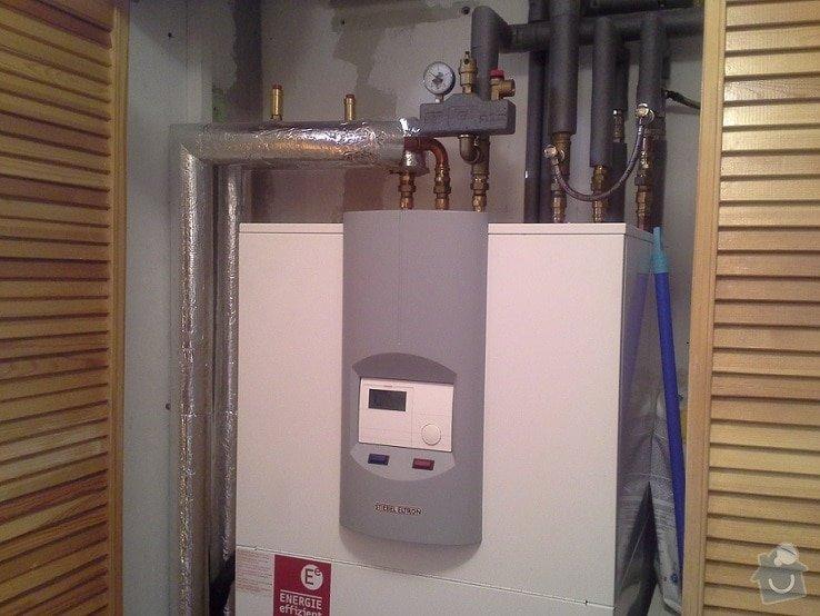 Instalace tepelného čerpadla: tc2