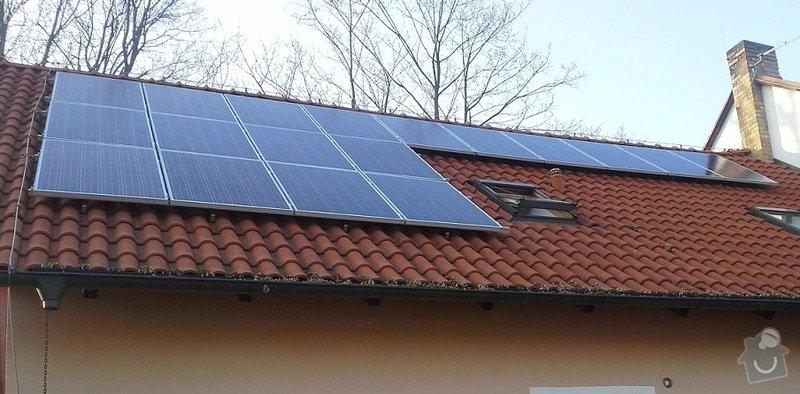 Dodávka a montáž fotovoltaické elektrárny: FVE1