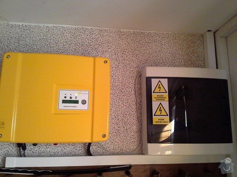 Dodávka a montáž fotovoltaické elektrárny: FVE2