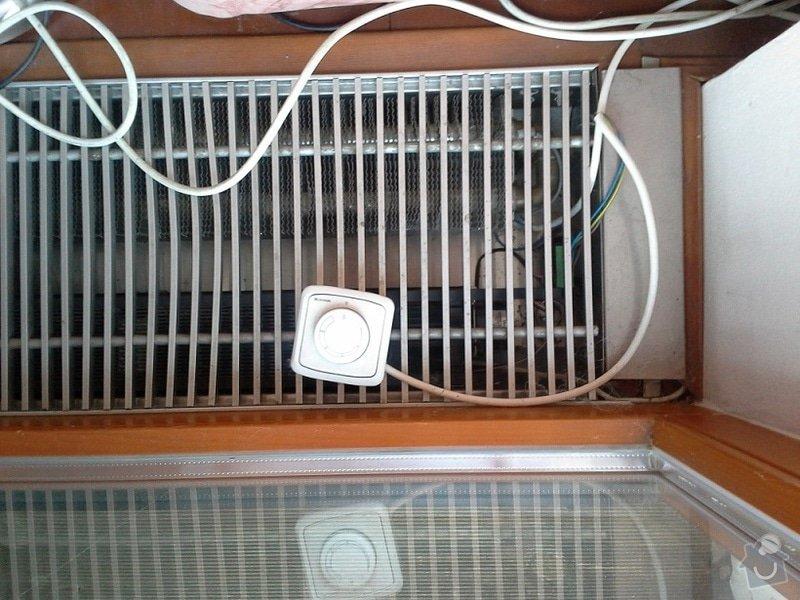 Montáž ventilátoru k podlahovému konvertoru: ventilator