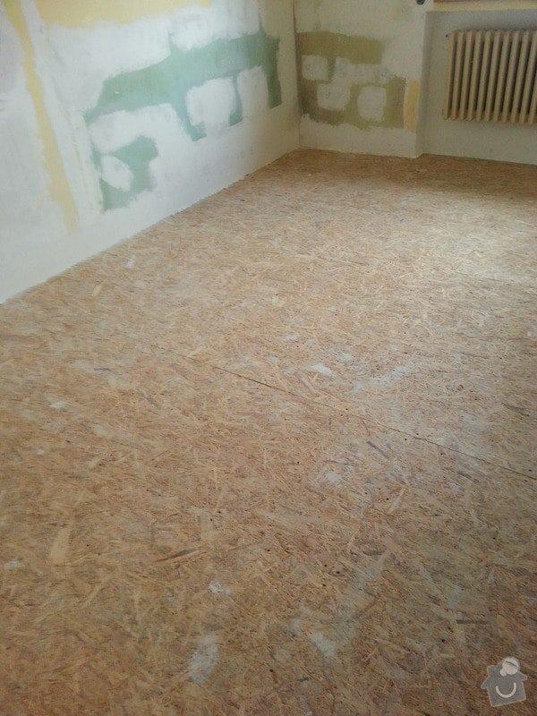 SDK strop/OSB podlaha/kosmetika stěn: 20140228_141659