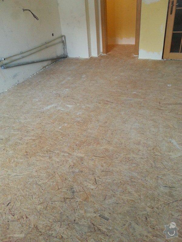 SDK strop/OSB podlaha/kosmetika stěn: 20140228_141746