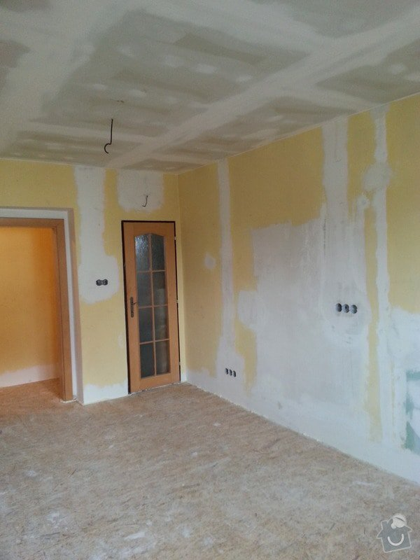 SDK strop/OSB podlaha/kosmetika stěn: 20140228_141759