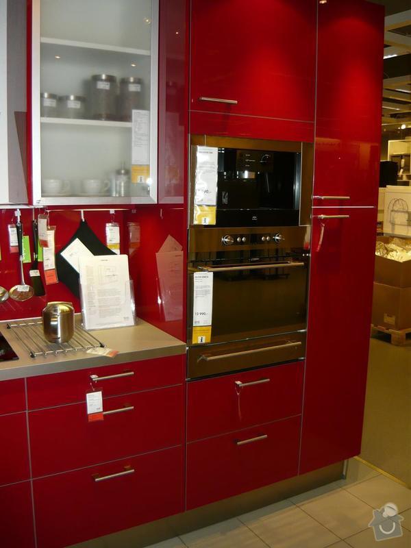 Kuchyň - přelepení samolepící fólií: P1010822