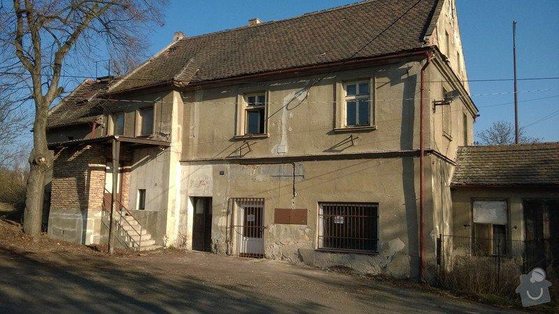 Fasáda domu v katastru Chomutov , Žatec: WP_20140311_004