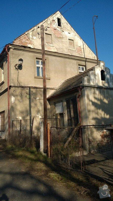 Fasáda domu v katastru Chomutov , Žatec: WP_20140311_005