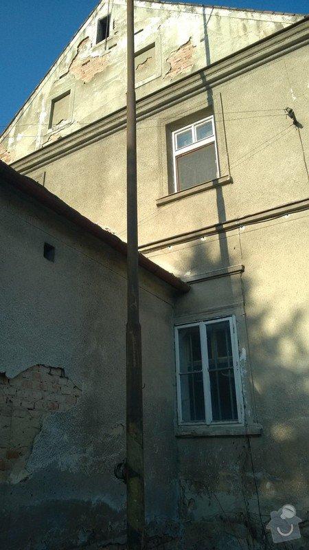 Fasáda domu v katastru Chomutov , Žatec: WP_20140311_006