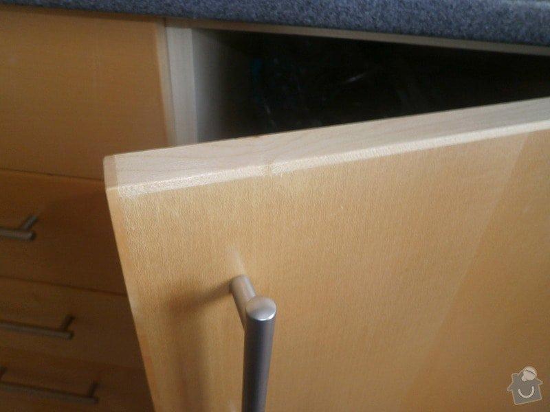 Nova skrinky kuchynska linka: detail