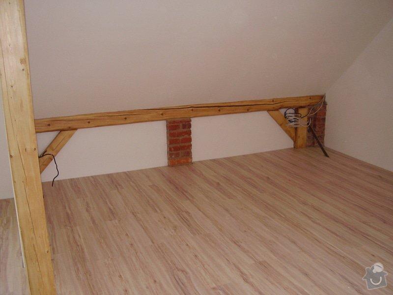 Rekonstrukce podkrovního bytu: P3020014