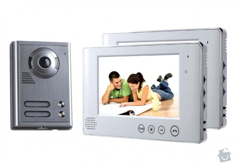 Domácí videotelefon - servis (nefunkční mikrofon?): videotelefon