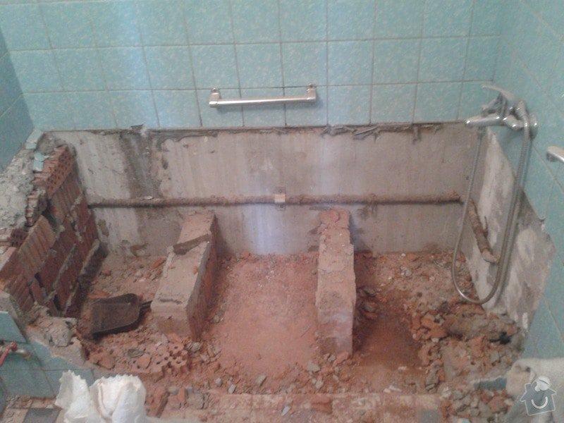 Rekonstrukce koupelny a WC: 20140227_095757