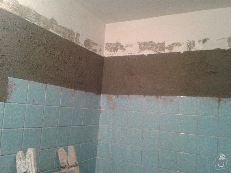 Rekonstrukce koupelny a WC: 20140301_170801