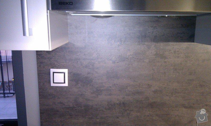 Elektroinstalace - nová kuchyňská linka: IMAG0342