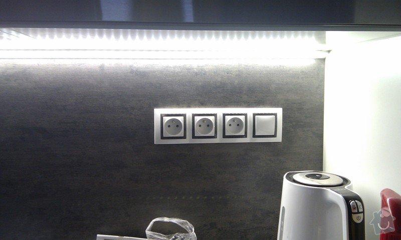Elektroinstalace - nová kuchyňská linka: IMAG0343