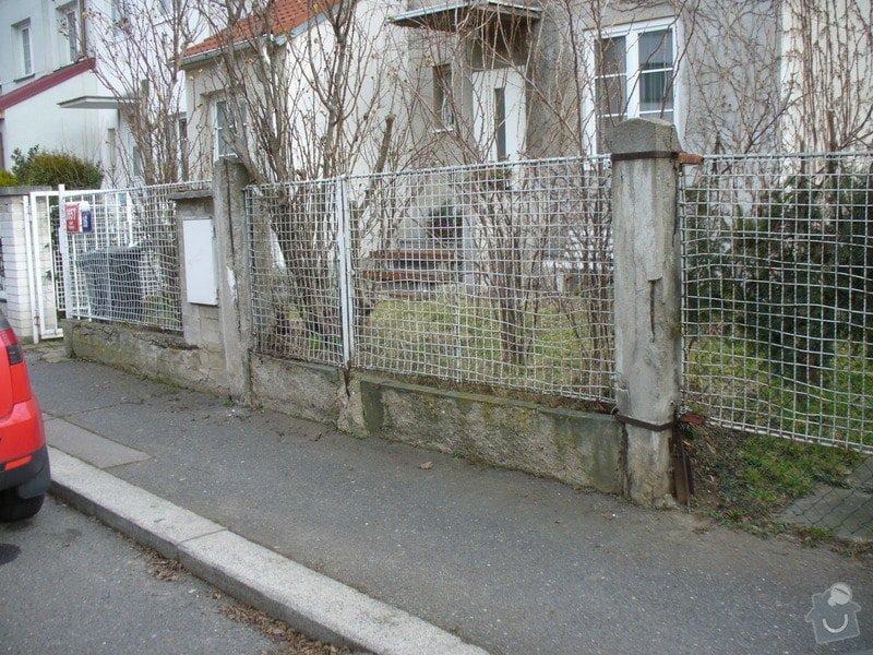 Stavbu plotu, délka 10,5m: P1220149