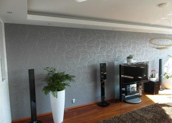Realizace rekonstrukce obývacího pokoje