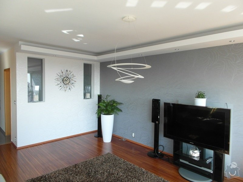 Realizace rekonstrukce obývacího pokoje: SAM_1197