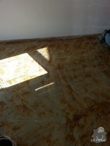 Položení vinylove podlahy: 20140310_110231