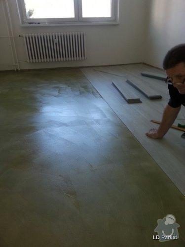 Položení vinylove podlahy: 20140312_121746