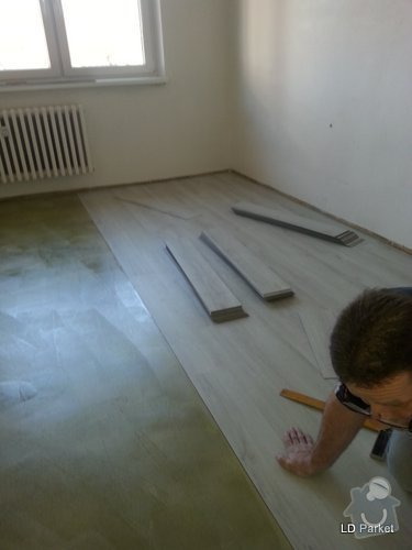 Položení vinylove podlahy: 20140312_121753