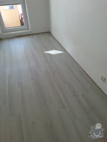 Položení vinylove podlahy: 20140312_142802