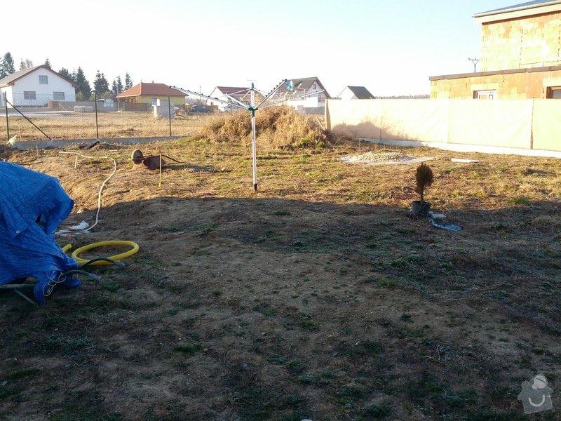 Terenní úpravy - srovnání pozemku/zahrady: IMG_20140313_074655