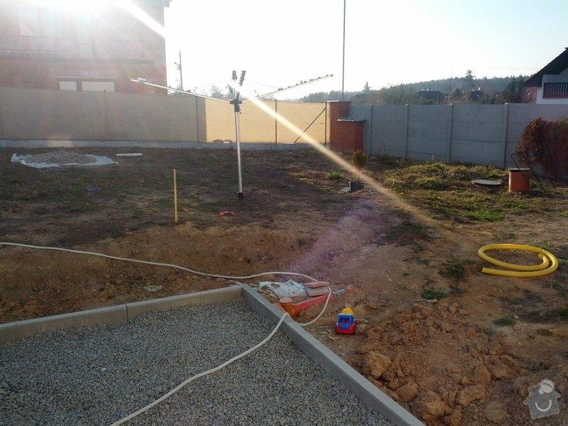 Terenní úpravy - srovnání pozemku/zahrady: IMG_20140313_163212