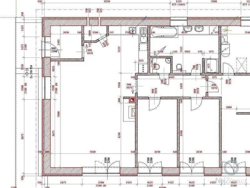 Zednické práce - realizace základové desky a hrubé stavby: 2014-10_1n_udorys_1NP_det_a
