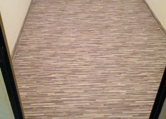 Položení PVC podlahové krytiny