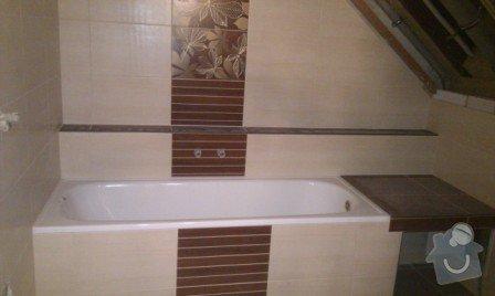 Rekonstrukce koupelny a WC: Koupelna_po