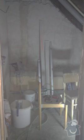 Rekonstrukce koupelny a WC: Koupelna_pred