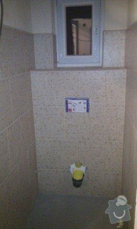 Rekonstrukce koupelny a WC: WC_po