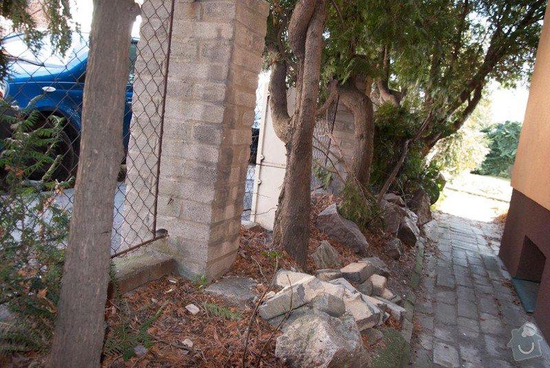 Stavba plotu betonové tvarovky + jekl: DSC_0114