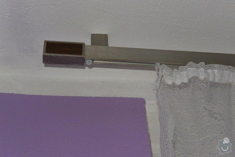 Instalace lišt, závěsného systému pro závěsy, instalace 2 nočních stolků: 3