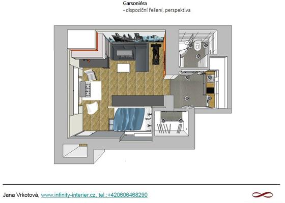 Návrh a rekonstrukce bytu