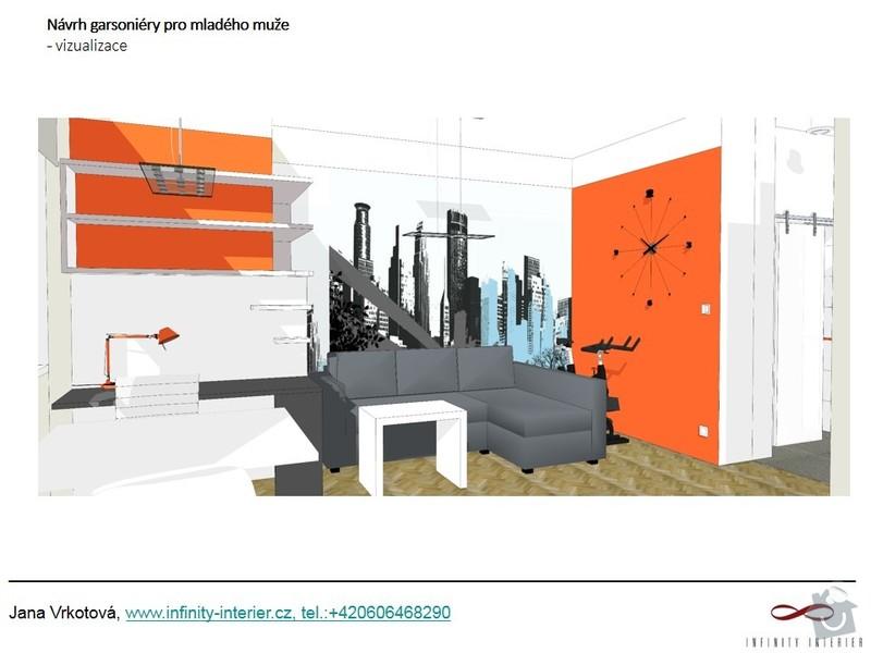 Návrh a rekonstrukce bytu: Zelivskeho_2_-_sedacka