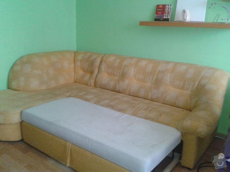 Poptávka vyčištění čalouněné rozkládací sedačky: Sedacka_001