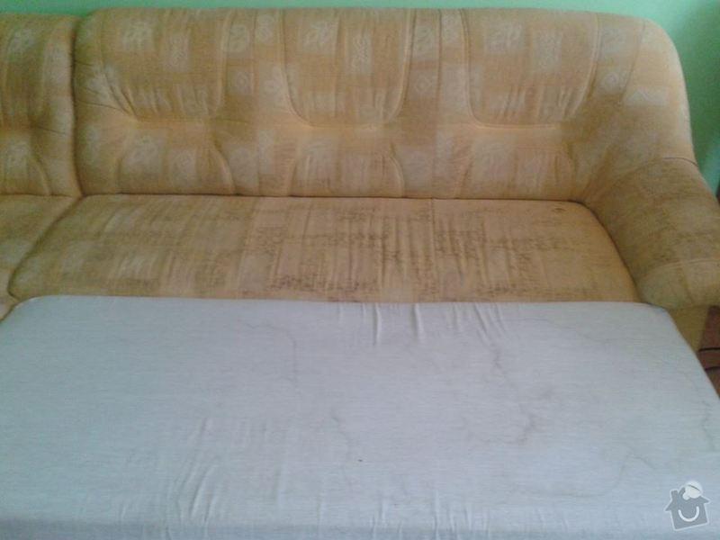 Poptávka vyčištění čalouněné rozkládací sedačky: Sedacka_002