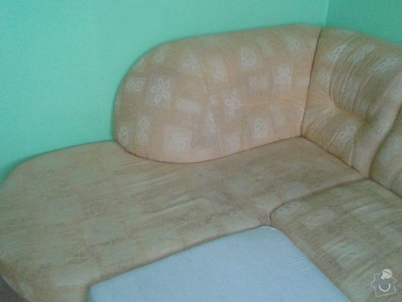 Poptávka vyčištění čalouněné rozkládací sedačky: Sedacka_003