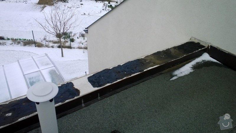 Oprava plechů na střeše rodiného domu: WP_20131207_12_13_20_Pro