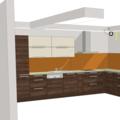 Sadrokartonovy podhled kuchyn vizualizace sadrokarton