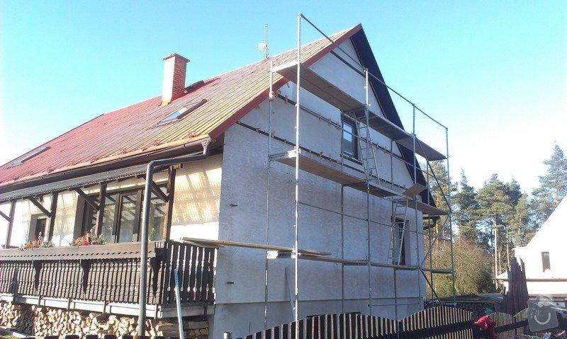 Zhotovení nové fasády: IMAG0531