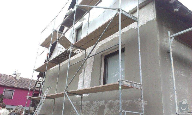 Zhotovení nové fasády: IMAG0532