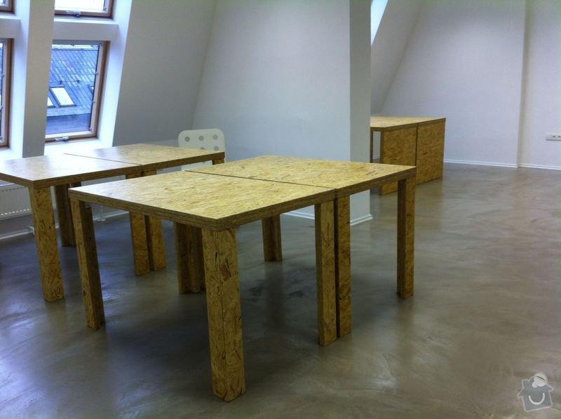 Výroba kancelářského nábytku z OSB: IMG_1491