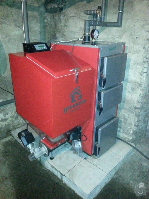 Prodej a montáž automatického kotle.: 20140316_174420