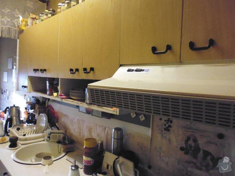 Montáž kuchyňské linky: Stena08