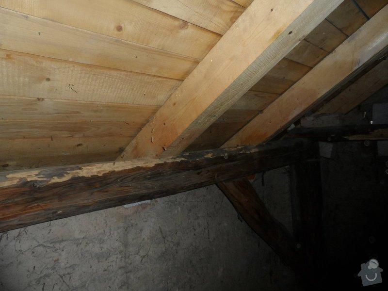 Částečná rekonstrukce sedlové střechy + výměna okapů: tram_7